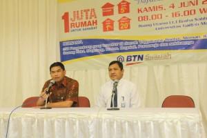 Direktur Sumber Daya Manusia UGM membuka acara