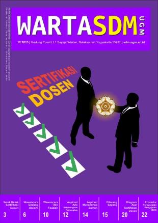 Warta SDM UGM Edisi 4 - Sertifikasi Dosen