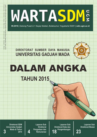 Warta SDM UGM Edisi 5 - 2015 Dalam Angka