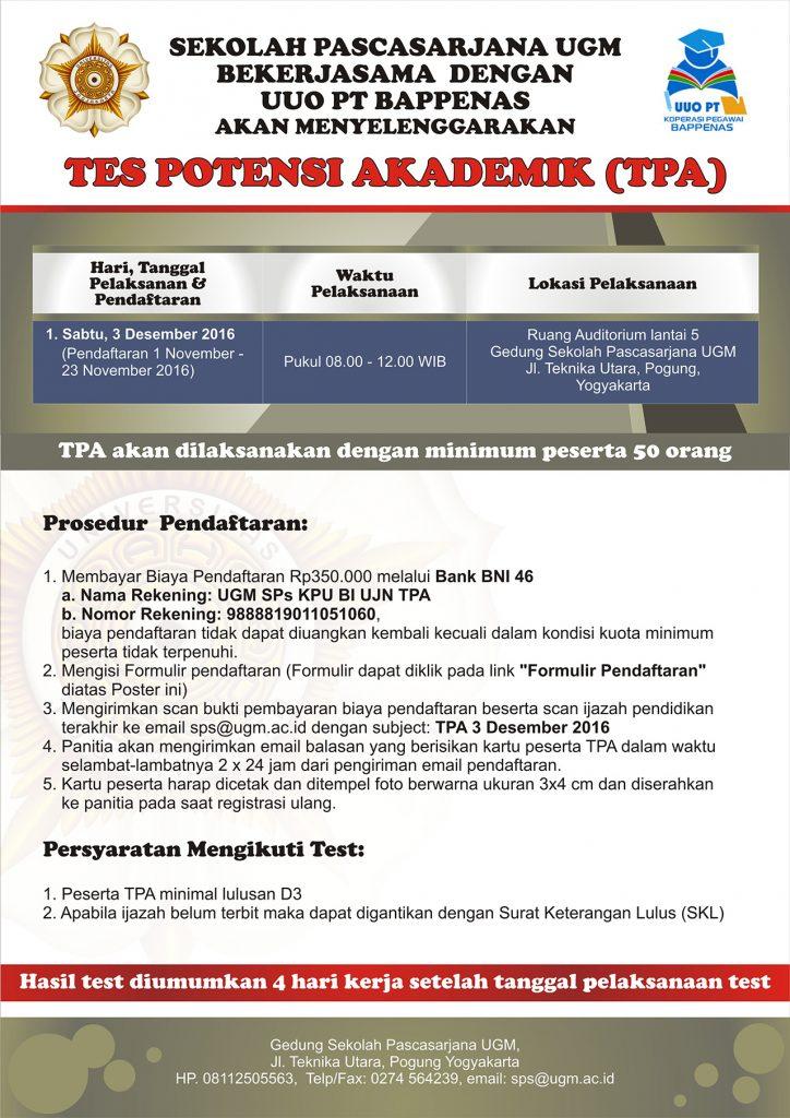 poster-tpa-bappenas-pascasarjana-ugm-2016