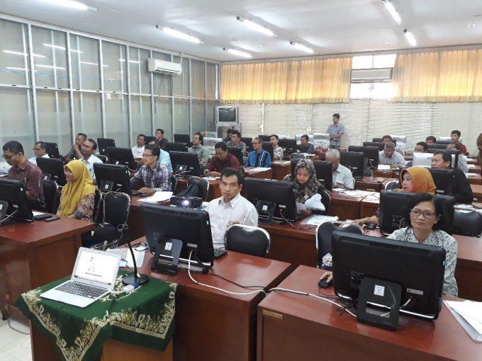 Peserta Pelatihan Laboran Bidang Komputer Level 1